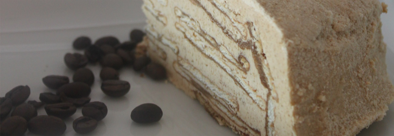 Coffee-Flavoured Biscuit Cake