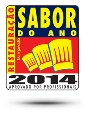 """Sabor do Ano Restauração 2014"" (""Restaurant Taste of the Year 2014"")"