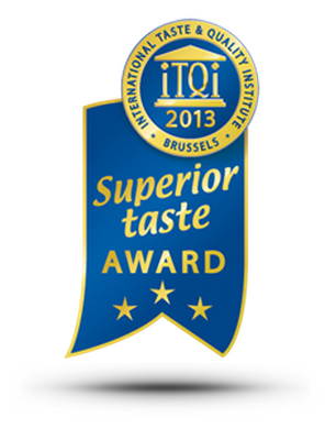 Superior Taste Award 2013, 2010 and 2007